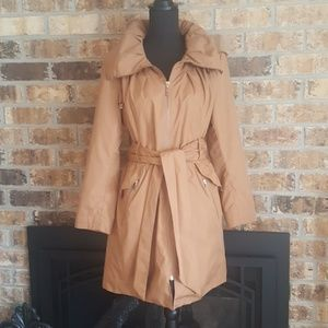 Cole Haan | Hooded Trench Coat